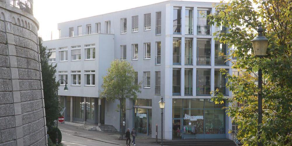 Aussenansicht des Gebäudes an der Grabenstrasse 11 in Frauenfeld.